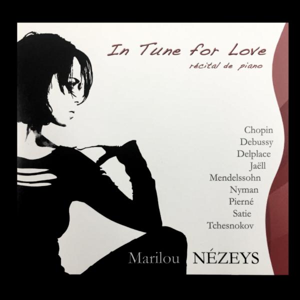 1- In Tune For Love - Marilou Nézeys Pochette 1